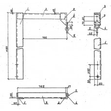 Траверса ТМ-11 (3.407.1-143.8.11)
