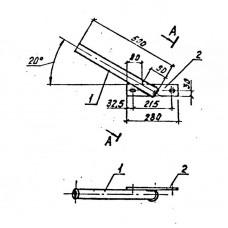 Кронштейн для светильника КС-1 (3.407.1-136.22.01)
