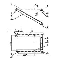 Кронштейн разъединителя РА-1 (3.407.1-143.8.64)